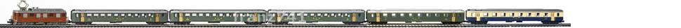 Epoche-III-BLS-EW-I-Personenzug_Ae-4-4-Elok-EW-I-Wagen-alte-Beschriftung_klein