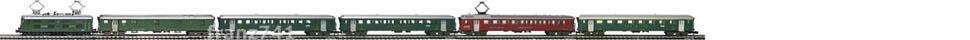 Epoche-III-SBB-EW-I-Personenzug_Re-4-4-I-Elok-EW-I-Wagen-alte-Beschriftung_klein