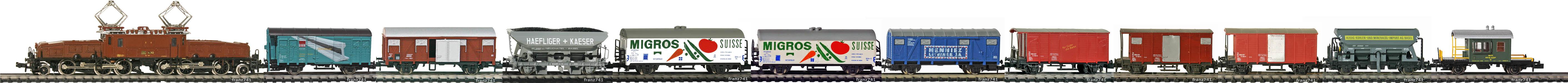 Epoche-III-SBB-FS-Gueterzug_Ce-6-8-III-Elok-gemischte-Gueterwagen
