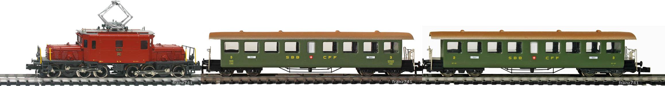 Epoche-III-SBB-Seetaler-Personenzug_De-6-6-Elok-B4-BC4-Seetalwagen