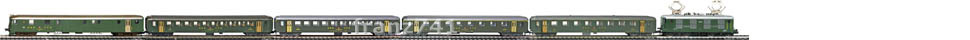 Epoche-IV-SBB-EW-I-Personenzug_Re-4-4-I-Elok-DZt-EW-I-Wagen-altes-Logo_klein