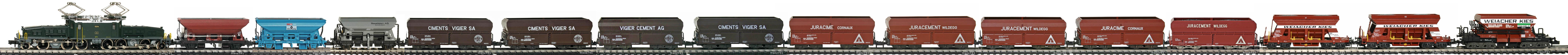 Epoche-IV-SBB-Schuettgutwagen-Gueterzug_Be-6-8-II-Elok-Gueterwagen-Typ-F