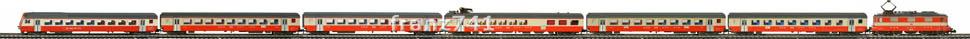 Epoche-IV-SBB-Swiss-Express-Personenzug_Re-4-4-II-Elok-EW-III-Wagen_klein