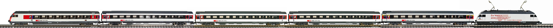 Epoche-V-SBB-EW-IV-Personenzug-Re-460-EW-IV-Wagen-IC-New-Look-Roco