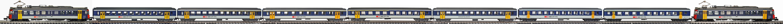 Epoche-V-SBB-RBe-540-Personenzug_RBe-540-EW-I-EW-II-NPZ-Wagen