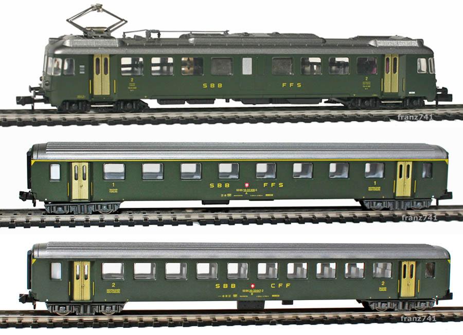 Arnold-0372-EW-I-Triebwagen-Zugset-SBB