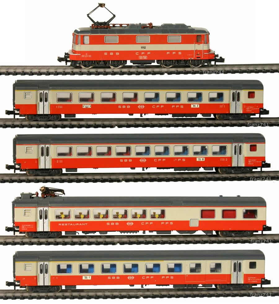 Minitrix-11031-Swissexpress-Zugset-SBB